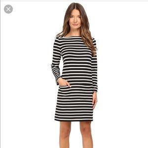 kate spade everyday stripe shift dress